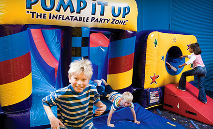 Three Pop-in-Playtime Passes (a $21 value) - Pump It Up in Brandon
