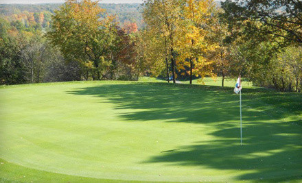 18 Holes of Golf for Two People with Cart Rental and Two Buckets of Range Balls  - Devil's Ridge Golf Club in Oxford