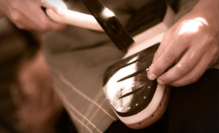 1801 I St. NW in DC: Repair and Shine for 2 Pairs of Womens Shoes - Cobbler's Bench Shoe Repair in Washington