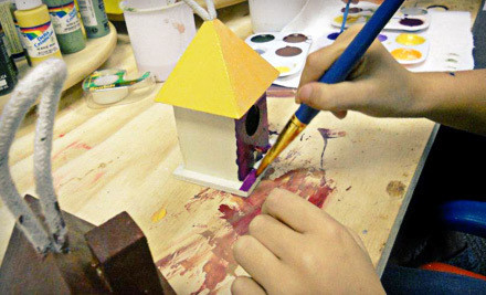 Five 1-Hour Open-Studio Art Sessions for a Child Aged 12 (a $25 value) - Young at Art Seattle in Seattle