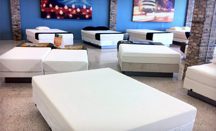 Twin or Queen-Sized Eco-Cool Bamboo, 8-Inch Memory-Foam Mattress  - Brickell Mattress in Miami