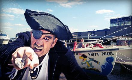 45-Minute Family Pirate-Treasure Hunt for 2 on Boston Harbor (a $60 value) - Cityside Harbor Shuttle in Boston
