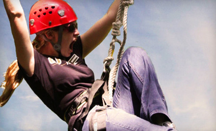 1-Hour Party with Unlimited Zip-Line Trips for up to 10 Kids (a $2,500 value) - Myrtle Beach Zipline Adventures in Myrtle Beach