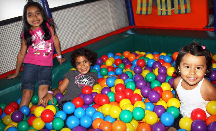 5-Admission Punchcard for Open Play - My Kids Clubhouse in Poway