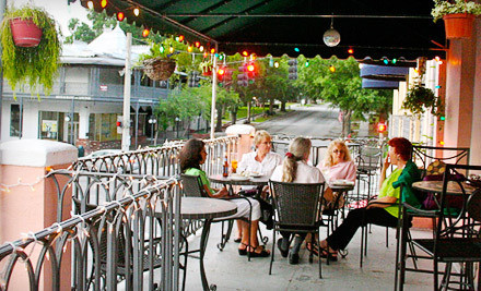 $20 Groupon for Cafe Fare and Drinks  - One Flight Up in Mount Dora