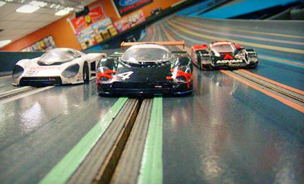 60-Minute Slot-Car Racing for Two (a $28 value) - ASR Indoor Motor Sports Raceway in Longwood