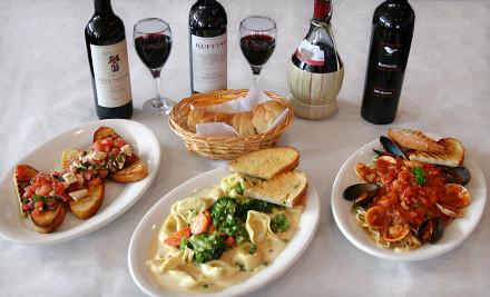 3-Course Italian Dinner for 2 - Casa Nostra Ristorante Italiano & Bar in Lakeville