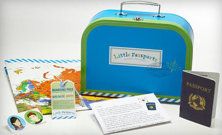 Good for a 3-Month Traveler Kit with Shipping (a $53 value) - Little Passports Traveler Kit Subscription in