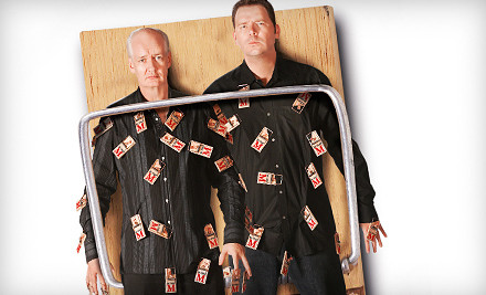 Colin Mochrie & Brad Sherwood: Two Man Group on Fri., Apr. 13 at 8PM: Reserved Seating - Colin Mochrie & Brad Sherwood: Two Man Group in Lowell