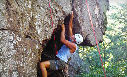 Rock-Climbing Course for One (a $110 value) - Northeast Mountain Guiding in Huntersville
