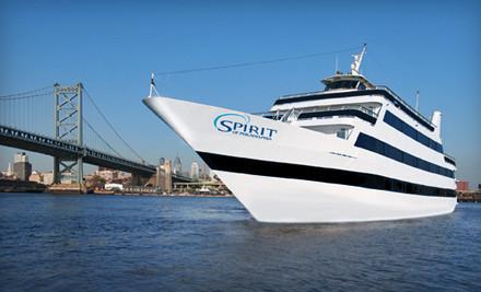 3-Hour Dinner Cruise Redeemable Sunday-Thursday - Spirit of Philadelphia in Philadelphia