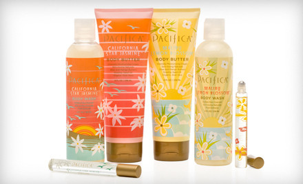 $40 Groupon for Fragrances and Bath and Beauty Products - Pacifica in