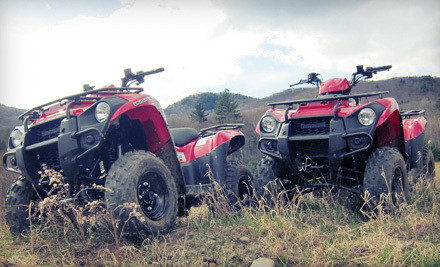 One-Hour Guided ATV Tour for Two (a $240 value) - DirtVentures ATV Rentals in Woodstock