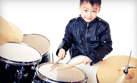 4 30-Minute Private Lessons in Drums, Guitar, Bass, or Keyboard (a $125 value) - Donn Bennett Drum Studio in Bellevue