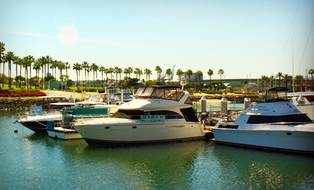 1-Night Stay for Two on a Luxury Yacht, Valid Sunday-Thursday (up to a $200 value) - Dockside Boat & Bed in Long Beach
