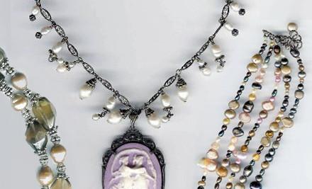 $25 Toward a 2-Hour Jewelry-Making Class, Jewelry Repairs, or Custom Jewelry Design - Bead Works Inc. in Franklin
