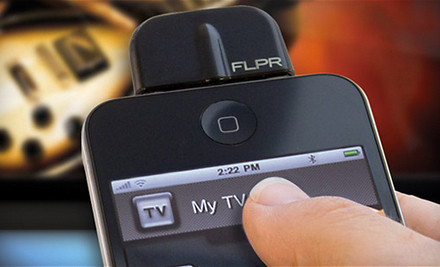 Good for a FLPR Programmable Universal Remote Control for iPhone, iPod Touch, and iPad ($75 value) - iPhone Universal Remote in