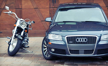 Interior and Exterior Detail for a Car, Van or Small SUV (a $150 value) - Diamond Line Detail in
