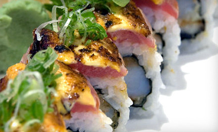 $45 Groupon for Sushi and Japanese Entrees (Tuesday-Thursday or Sunday) - Kyoto Sushi Restaurant in Chicago