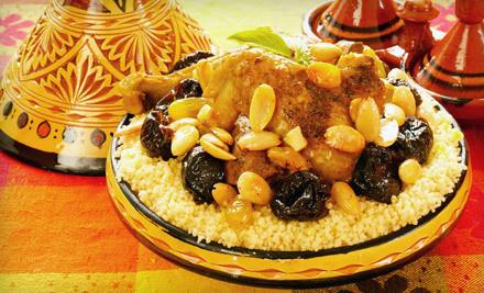 $25 Groupon  - Taste of Morocco in Arlington