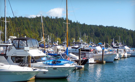 2 Nights Moorage for a Vessel Up to 50 Feet Long, Valid SundayWednesday (a $140 value) - Port Browning Marina in Pender Island