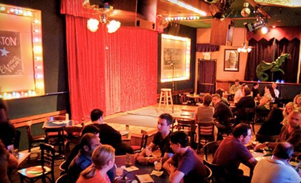 Any Regular Thu.-Sun. Comedy Show at Rooster T. Feathers Comedy Club from 4/4-12/26: General Admission for Two - Comedy Show in Sunnyvale