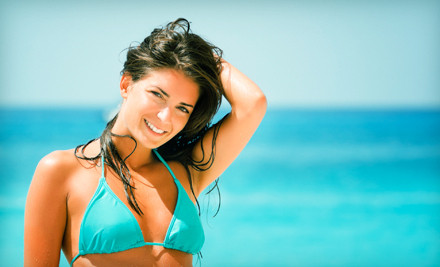 6 Spray Tans (a $180 value) - Denice Marquez at Rockwall Salons in Rockwall