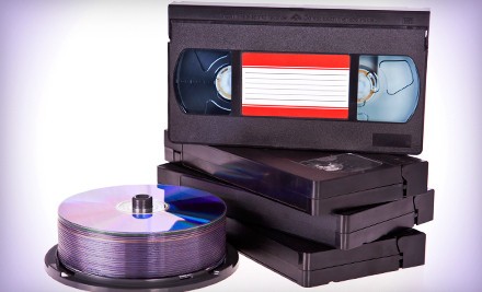 One VHS-to-DVD Transfer of a Tape of Unlimited Hours (a $50 value) - Lasting Memories in Schaumburg