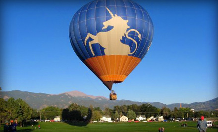 Sunrise Hot Air Balloon Flight for 1 - Unicorn Balloon Company in Cave Creek