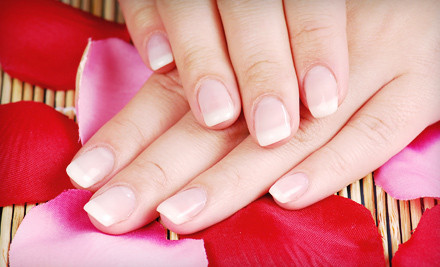 1 Calgel Manicure (a $35 value) - Naturally Hands and Spa in Los Angeles