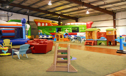 4-Visit Pass (a $28 value) - The Jumpy Place in Kyle