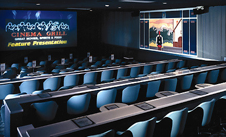 $20 Groupon for Admission, American Fare, and Drinks - Cinema Grill in Aurora