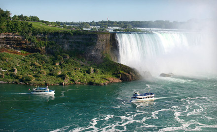 Option 1: One-Night Stay for Two Adults in a Standard Two Queen Room, Valid SundayThursday - Courtyard by Marriott in Niagara Falls