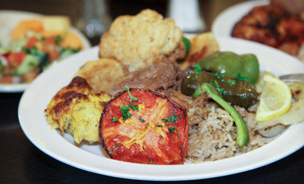 Buffet Meal for 2 with Unlimited Soft Drinks (a $24 value) - Dimassi's Mediterranean Buffet in Austin