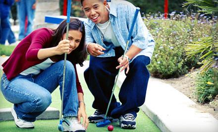 Mini Golf for 2 Adults (a $10 value) - Tropical Falls Miniature Adventure Golf in Burton
