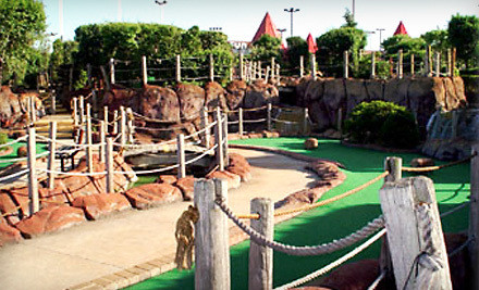 One Round of Miniature Golf for Four - PGN Fun Center in Hickory Hills