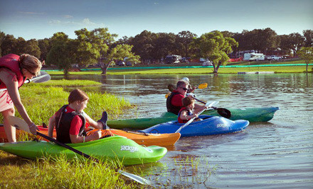 2-Hour Single-Person Kayak Rental (a $20 value) - Meadowmere Park in Grapevine
