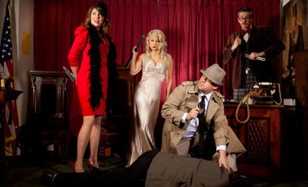 1 Dinner-and-Performance Ticket (a $60 value) - The Murder Mystery Company in Snohomish