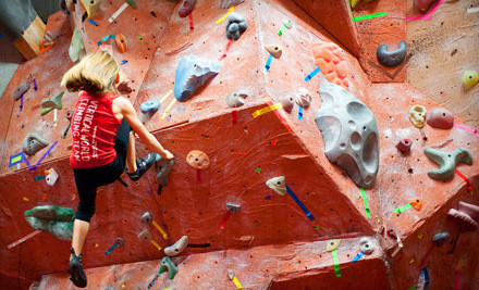 Bouldering Day Pass, with Shoes and Chalk (a $24 value) - Vertical World in Redmond