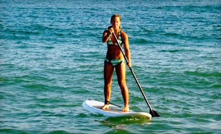 1-Hour Intro to Standup Paddleboarding (SUP) Class for 1 (an $80 value) - Long Island Stand-Up Paddle Boarding Co. in East Islip