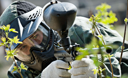 All-Day Paintballing for 2 with Equipment Rental and 500 Paintballs, Valid any Day of the Week (an $80 value) - American Paintball Coliseum in Denver