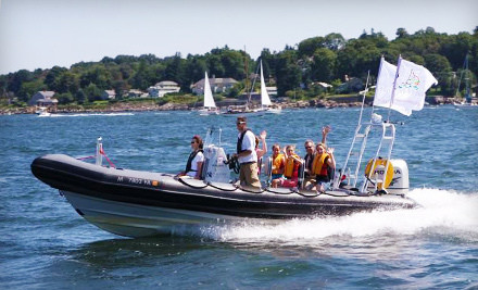 75-Minute High-Speed Tour of the Boston Harbor Islands (a $120 value) - RIB Adventure Tours in Boston