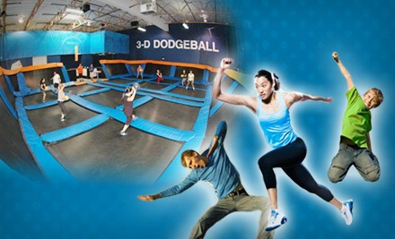 Two 60-Minute Open Jump-Passes: Valid Monday-Thursday (a $22 value) - Sky Zone Indoor Trampoline Park in Peoria