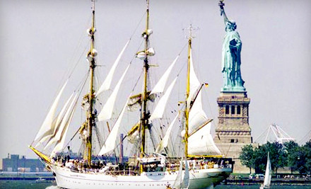 Fleet Week Tall Ships Boat Excursion for 1 (a $99 value) - Seacoast Sailing in Jersey City