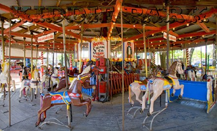 Ride Bands for Four Kids, Valid for One Day of Unlimited Rides - Kiddie Park in San Antonio