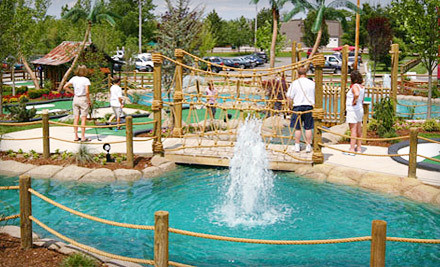 Round of Mini Golf and Small Ice Cream for 2 - Paradise Mini Golf in Middleton