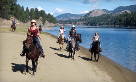 All-Inclusive, One-Night Stay for Two, Valid in May (a $440 value) - Bull Hill Guest Ranch in Kettle Falls