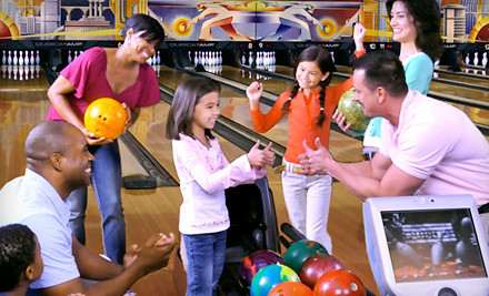 Two Hours of Bowling and Shoe Rental for Two People (a $42 value) - AMF Bowling in Columbus