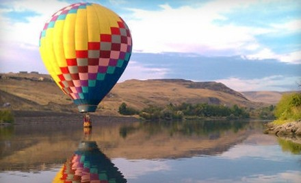 90-Minute Hot Air Balloon Ride and Winery Tour and Tasting for Two (a $556 value) - Adventurist Air Voyages in Lewiston