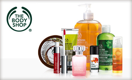 Miami: $10 for $20 Worth of Bath and Body Products at The Body Shop